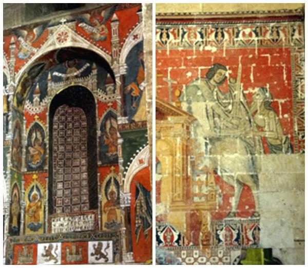 Capilla de San Martín, con pinturas originales firmadas - Imagen de Amigos del Románico
