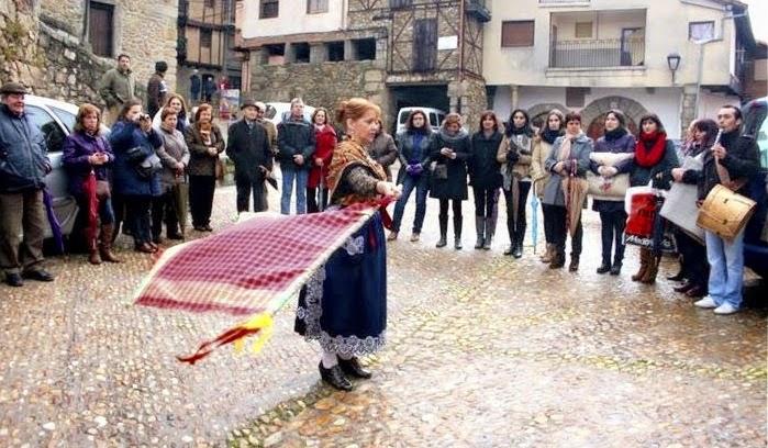 Bandera Miranda del Castañar Fuente de la imagen: ENTRESIERRAS Revista Digital #Salamanca