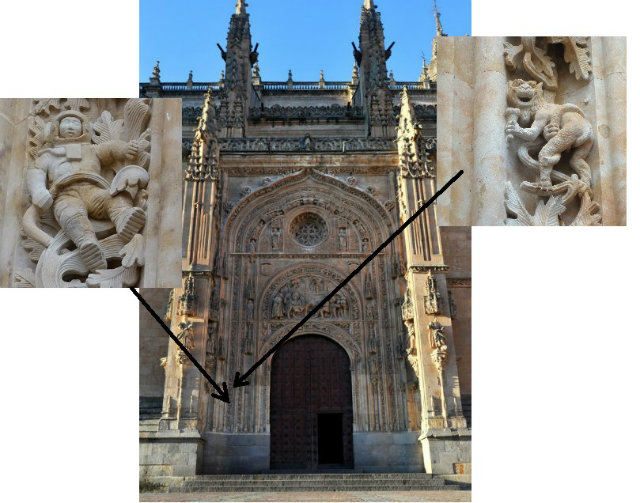 Fachada norte de la Catedral nueva de Salamanca - Destino Castilla y León