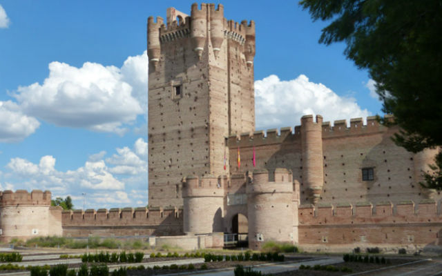 Castillo de Medina del Campo en la DO Rueda
