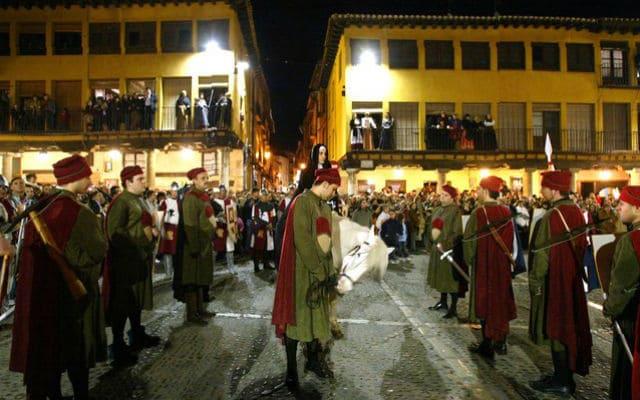 La Reina Juana entra en Tordesillas 2017