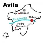 Mapa de la DOP. Cebreros