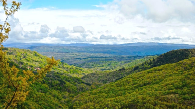 Paisaje de la Sierra de Salamanca