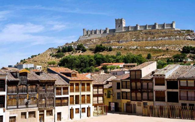Castillo de Peñafiel, origen de la Ribera del Duero
