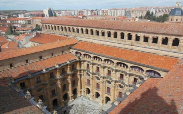 Claustro de la Clerecía de Salamanca - Imagen de EuropeosViajeros