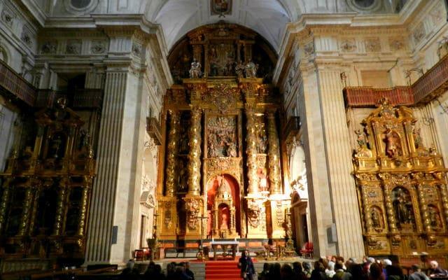 Retablo principal de la Clerecía - Imagen de Rafael Gómez