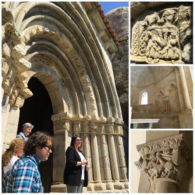 Detalles de la Ermita de Santa Cecilia de Vallespinoso - Destino Castilla y León