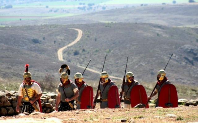 Recreación de soldados romanos - Imagen de la Asociación Numantinos
