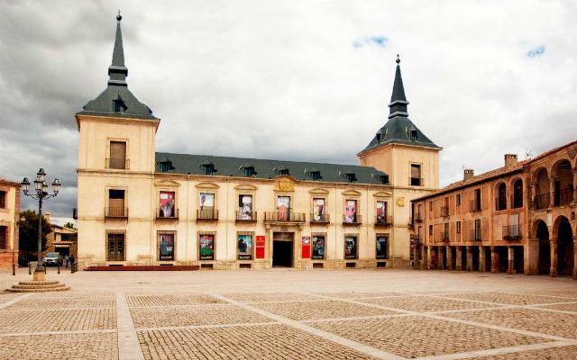 Receración de cómo debía ser el Palacio Ducal de Medinaceli - Imagen de Wikipedia