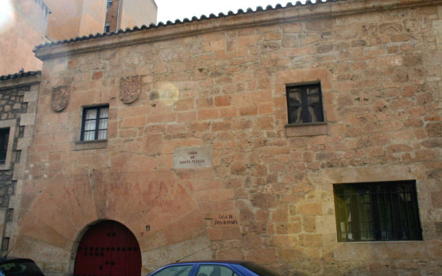 Casa de Santa Teresa en Salamanca - Imagen de Maravillas Ocultas de España