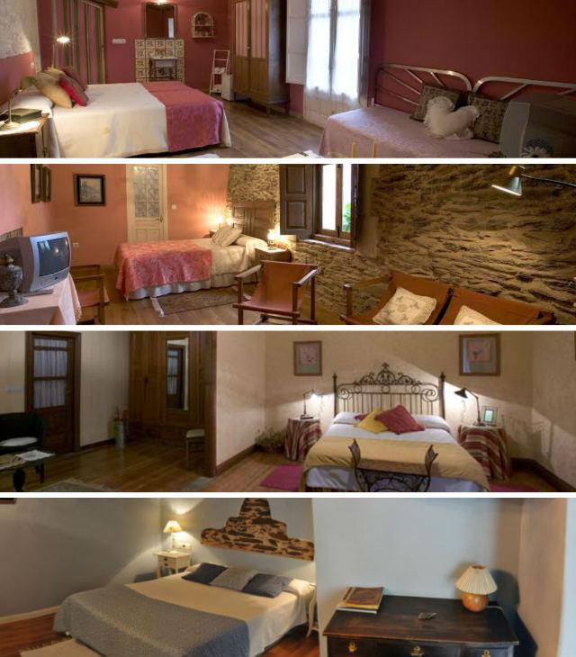 Habitaciones de la Posada de los Aceiteros de Ahigal de los Aceiteros - Destino Castilla y León