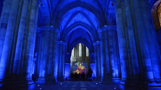 Visita Nocturna Monasterio Santa María la Real Aguilar de Campoo - Destino Castilla y León