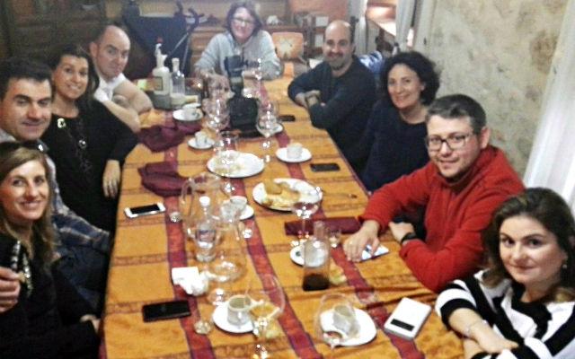Participantes en el CocidoDay en la Casa Rural Mesón Mariobeli -