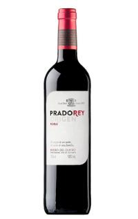Botella de vino tinto roble 2015 de Bodegas Prado Rey