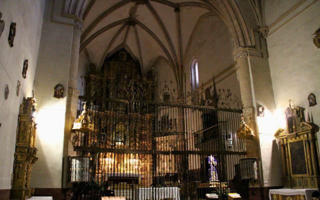 Interior de la Colegiata de Medinaceli - Imagen de Letras de Viaje