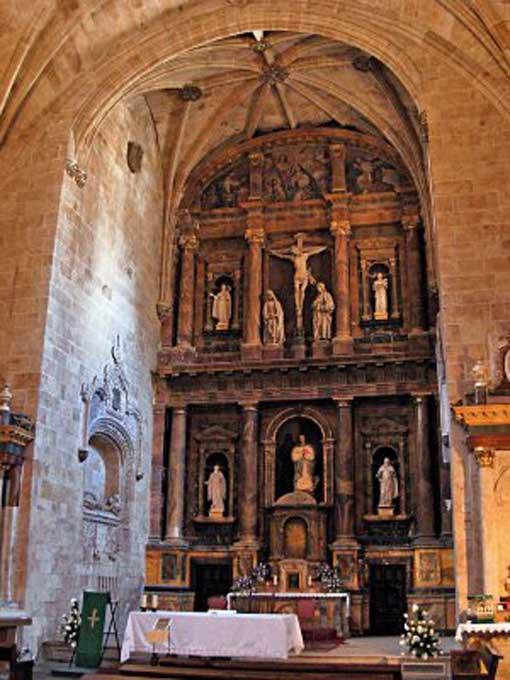 Retablo mayor de la Iglesia de San Benito de Salamanca - Imagen de UrbeSalamanca