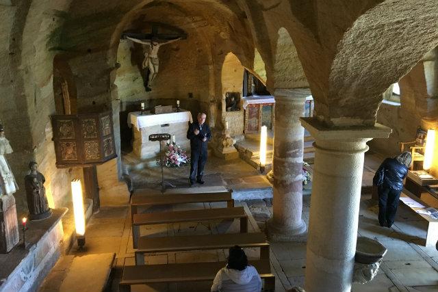 interior de la iglesia de los Santos Justo y Pastor de Olleros de Pisuerga - Destino Castilla y León
