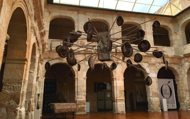 Patio interior del Palacio de Medinaceli - Destino Castilla y León
