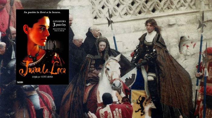 Juana la Loca rodando en Burgos - Destino Castilla y León
