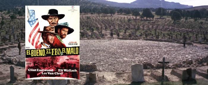 El Bueno, el Feo y el Malo, en Sad hill, Burgos - Destino Castilla y León