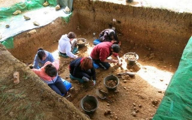 Escavaciones en Hundidero - Imagen de Noticias de la Ciencia