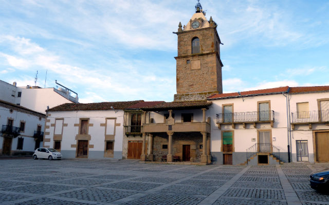 Plaza mayor de Lumbrales