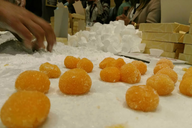 taller de yemas de santa teresa