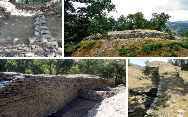 Restos arqueológicos del castro astur de La Muela - Destino Castilla y León