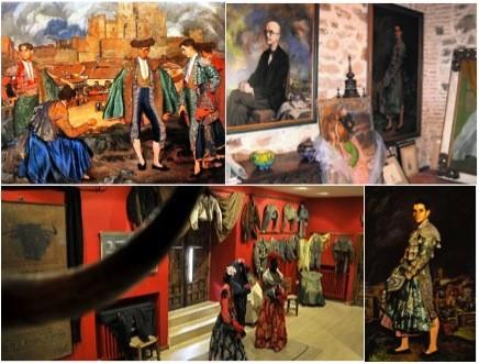 Cuadros y obras taurinas del Museo Zuloaga en el Castillo de Pedraza - Imagen cortesía de Taurología