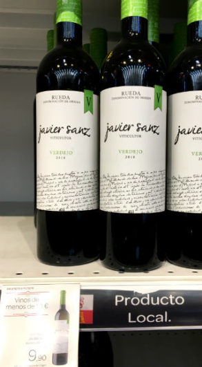 Verdejo Javier Sanz - Destino Castilla y León