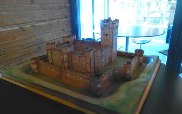 Maqueta del Castillo en el Centro de Recepción de Visitantes - Destino Castilla y León
