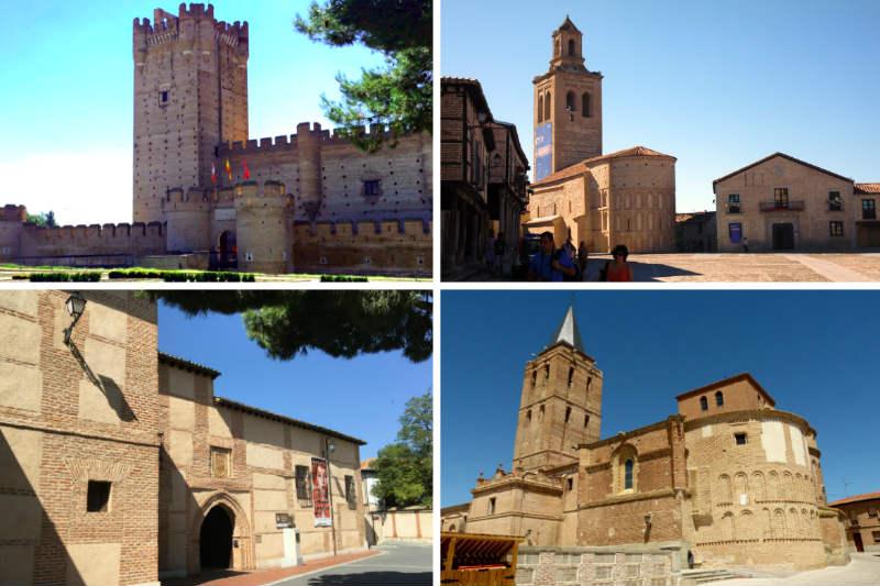 Lugares interesantes en el entorno de La Seca - Destino Castilla y León