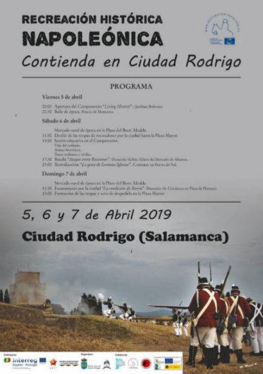 Programa de la recreación histórica del Sitio de Ciudad Rodrigo - Pulsa para abrir en grande