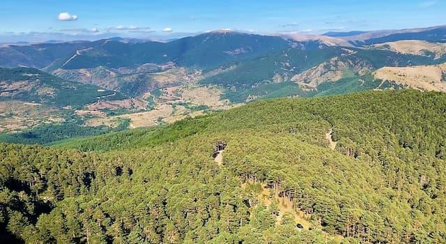 Pista forestal hacia la laguna de La Cascada desde el Mirador de San Francisco - Destino Castilla y León