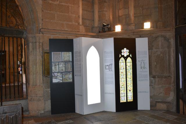 El sueño de la luz_paneles exposición_Destino Castilla y León
