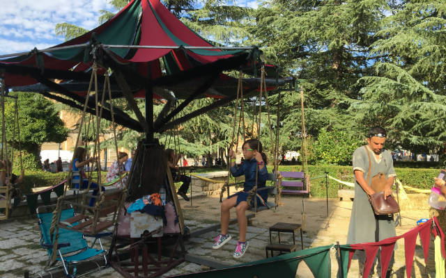 actividades infantiles en el mercado medieval de ávila