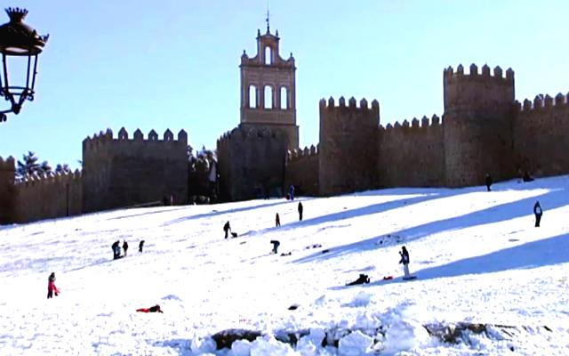 Ávila nevada - Imagen de ElTiempo