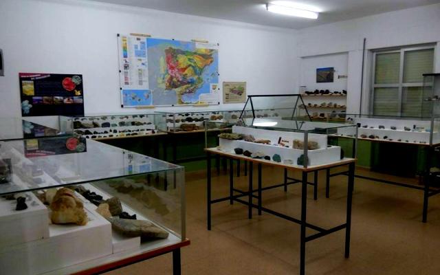 Aula de los minerales de España