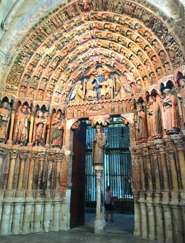 Pórtico de la Majestad de la Colegiata de Toro - Destino Castilla y León