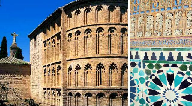 Ejemplos de elementos arquitectónicos mudéjares - Destino Castilla y León