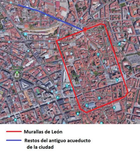 Configuración de la antigua ciudad romana - Destino Castilla y León