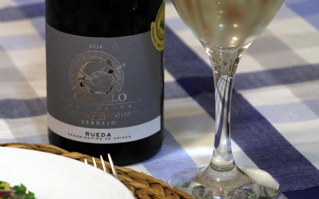 Copa de vino del Castelo de Medina FB - Destino Castilla y León