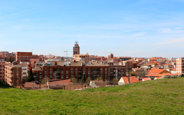 Medina del Campo desde la colina del castillo - Destino Castilla y León