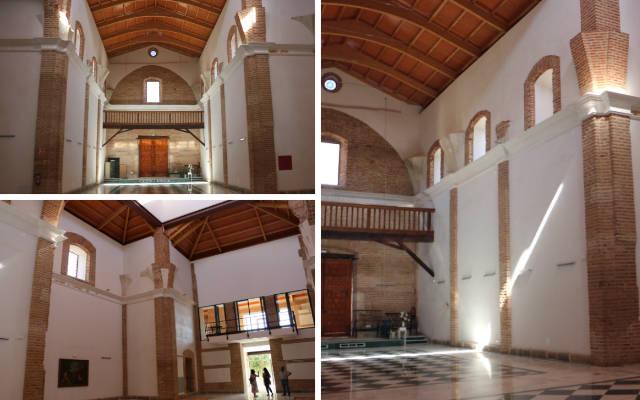Interior de la Iglesia de la Orden Tercera de La Seca rehabilitada por Javier Sanz - Destino Castilla y León