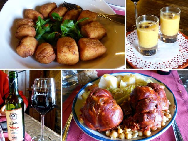Menú con botillo en el Palacio de Canedo - Destino Castilla y León