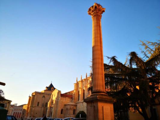 Columna romana en San Isidoro - Destino Castilla y León