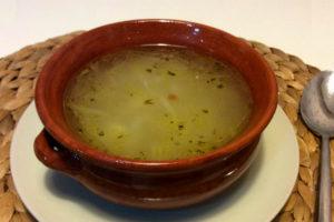Sopa de Cebolla - Destino Castilla y León