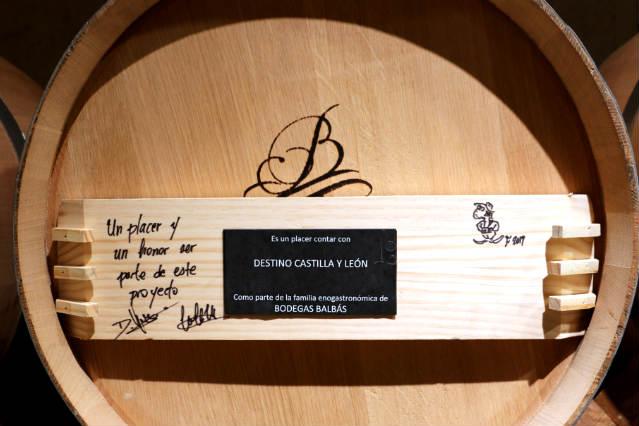 Barrica firmada por Destino Castilla y León - Destino Castilla y León