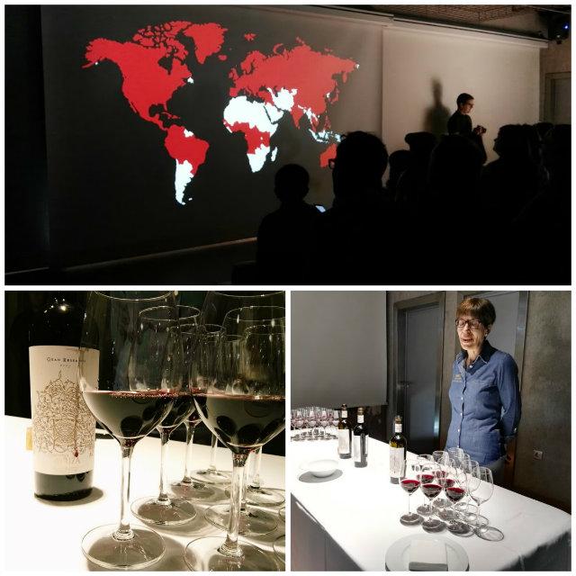 Sala de catas y proyección de vídeo - Museo del Vino Pagos del Rey
