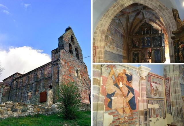 Iglesia de San Cornelio y San Cipriano en San Cebrián de Muda - Destino Castilla y León